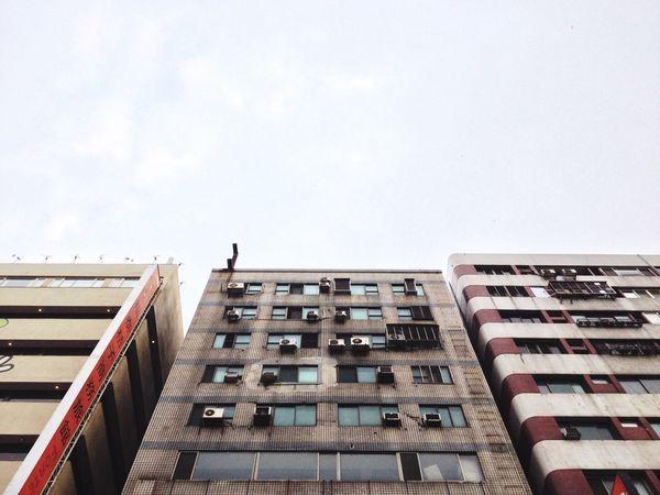 繁華已成空. Taiwan Taichung Eye4photography  IPhoneography EyeEm Style Building On The Road Photography