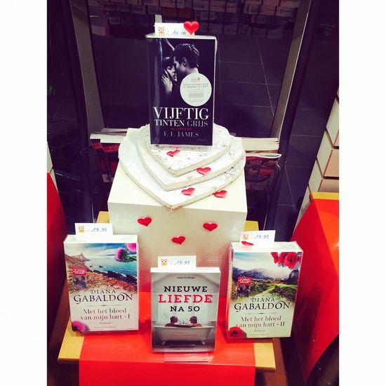 Etalage Valentijn Boeken Valentijn