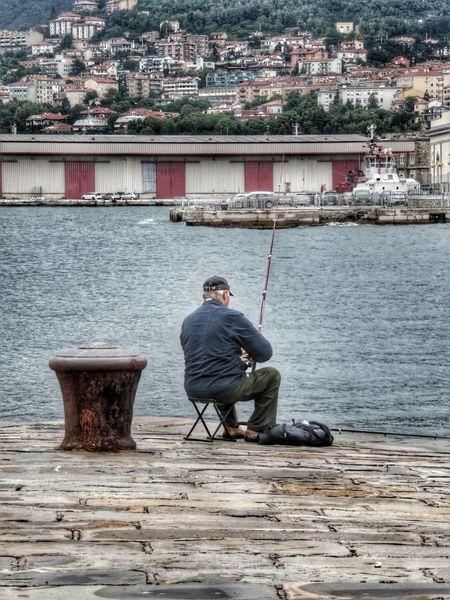 Pescatore solitario Trieste Triestemonamour TriesteSocial Triesteraccontatrieste Triestephotodays Trieste, Italy Trieste_streetlife Triestestreetlife