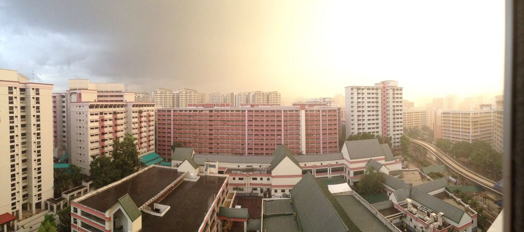 As we set into the darkness, we prepare ourselves for the journey ahead Taking Photos Panorama Panoramic Landscape Neighborhood Singapore Quotes Light And Dark Sunset Colour Of Life
