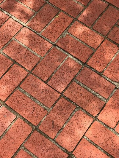 Full frame shot of paved footpath