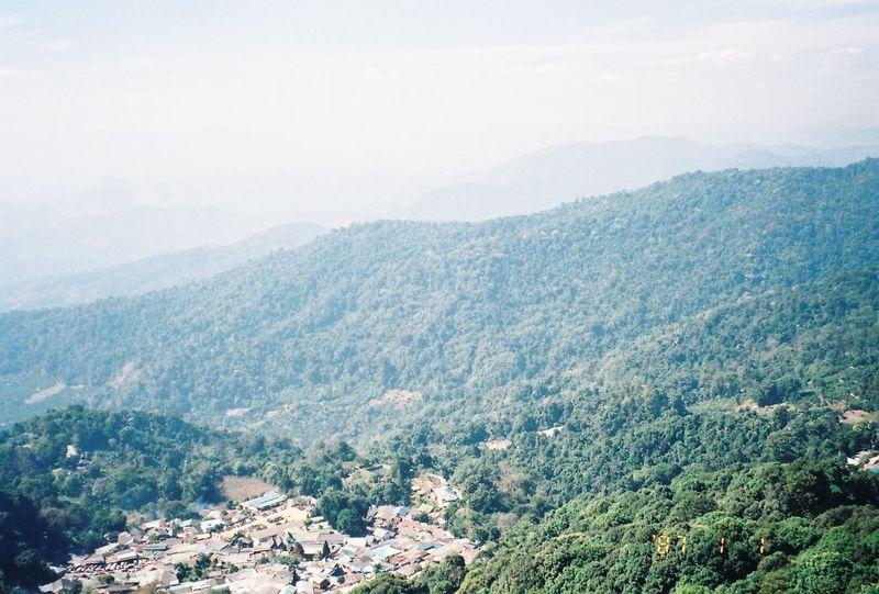 Chaing Mai Chiangmai Film Film Camera Film Is Not Dead Film Photography Filmcamera Landscape Monochrome Mountains Nature Thailand