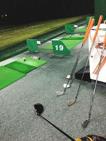 ゴルフの⛳️練習!なかなか上手くならんなぁ〜😂😂😂 ゴルフ 練習 打ちっぱなし