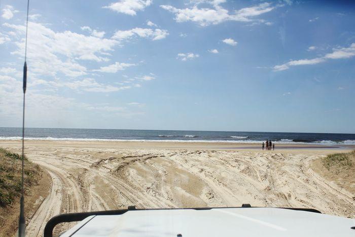 Sea Beach Sky Horizon Over Water Beauty In Nature Outdoors 4x4 Trucks 4x4 Offroad Sand Water EyeEmNewHere