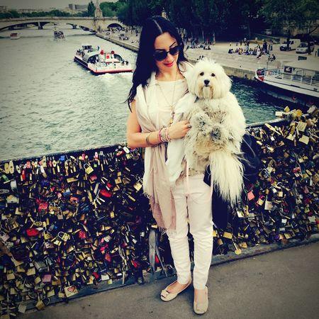 Paris Ilovemydog Myprincess🐶🐶 Inlovewithmybaby Isis😍 Walking Around OpenEdit ☀️🐶