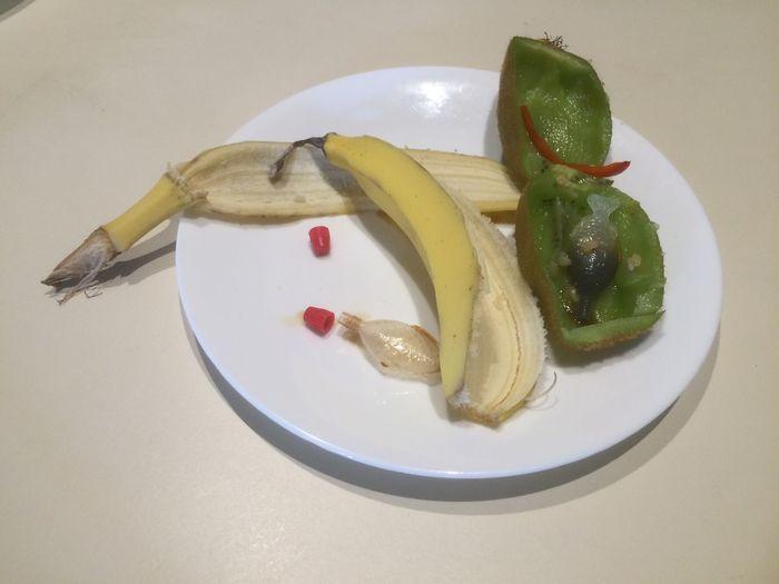 Eaten Lunch: sushi & fruit