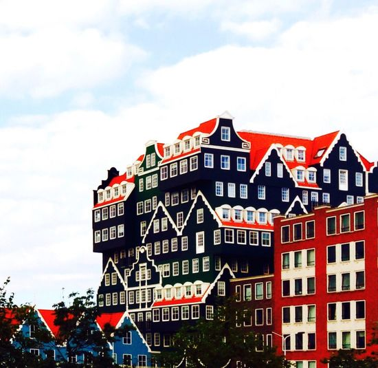 My view from my office! Architecture Multi Colored Intellhotel Zaandam Battle Of The Cities Netherlands The Architect - 2017 EyeEm Awards