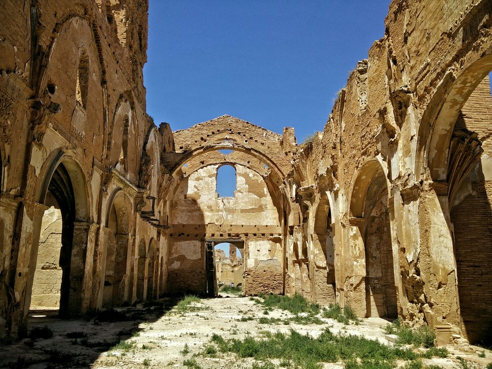 Belchite Ruins Cathedral