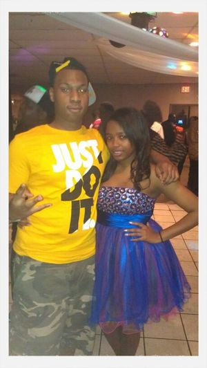 My And Girl Joya At Her Party