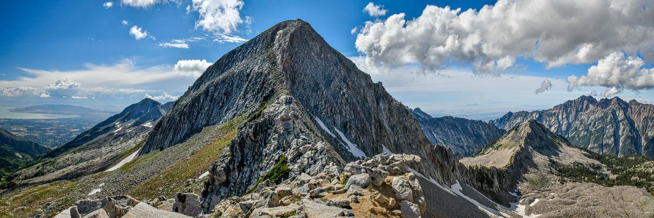 Looking towards the summit of pfeifferhorn