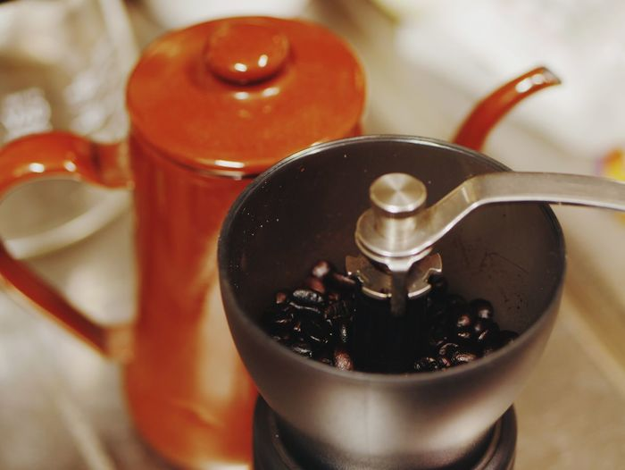 coffee mill Coffeelover Coffee Bean Coffee EyeEm Selects Drink Close-up Food And Drink Coffee Pot Black Coffee
