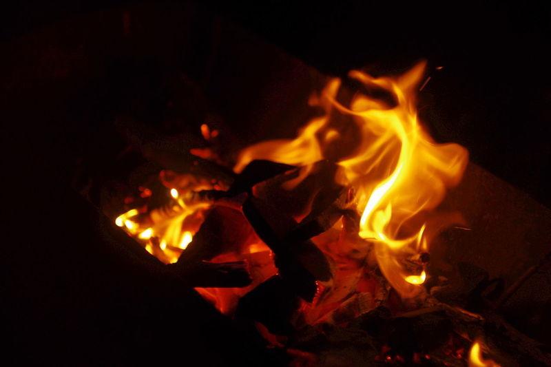 One Photo Every Day огонь Fireplace