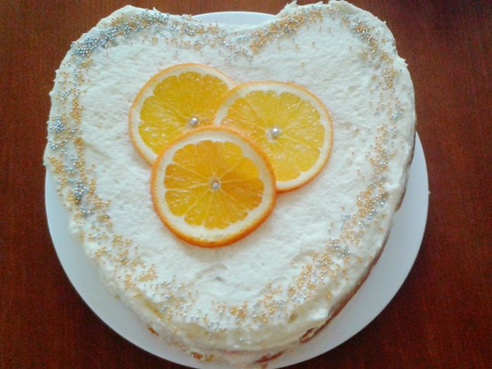 Cake Time Cake Cake Cake Cake  Cake♥ Valentine's Day  Valentines Cake Gateau Orange Cake Yummy♡ Coffe And Cake Sweet Moments I Love Cake