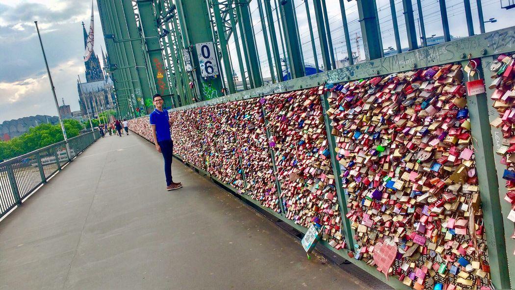 Köln Cologne Cologne , Köln,  Bridge Colonia Puente Brücke Candados Candados De Amor Locks Germany Deutschland Alemania Summer First Eyeem Photo