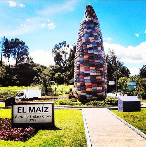 Elmaiz Monumentoelchoclo Monuments Sangolquí Ecuador🇪🇨 Paisaje Maiz Corn