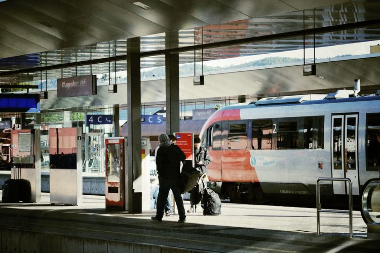 Train Station Trainstation Bahnhof Klagenfurt Am Wörthersee