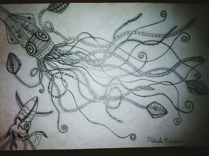squidward tentacles...