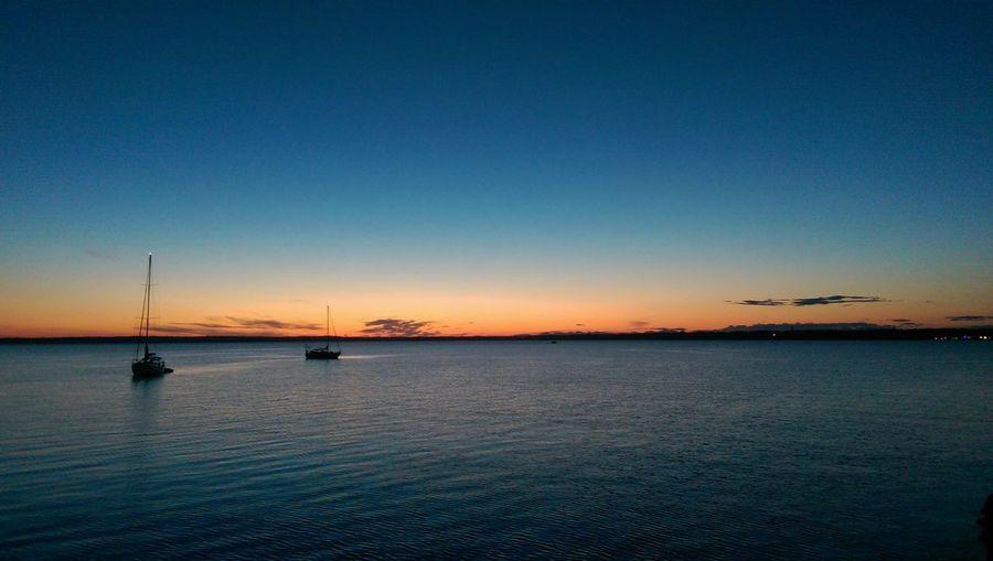 Bellingham, Washington Bellingham Bay Pacific Northwest  Pacific Ocean Sunset Sailboat Waterfront Washington State Puget Sound