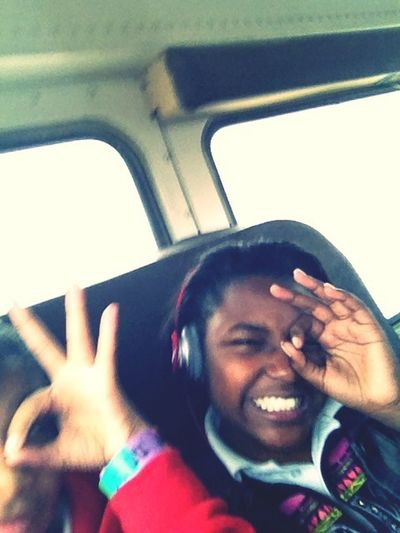 On The Bus But Pic Got Messed Up