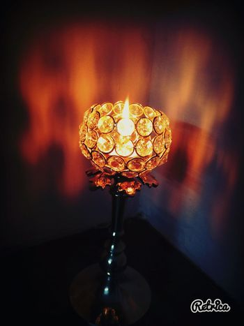 Took this on diwali festival Relaxing Check This Out Mobile Photography India Pro Shots. Weekly Top Picks Eyeem Trending EyeEm New Here Bestshots Perspective EyeEm Experia Taking Photos Lamp Light Candle Diwali Reflection