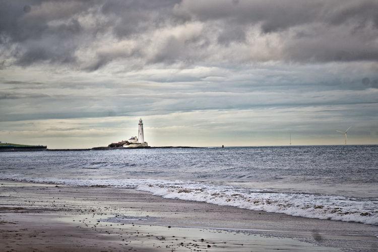 We Hate Sunderland Beach St Marys Lighthouse Whitley Bay