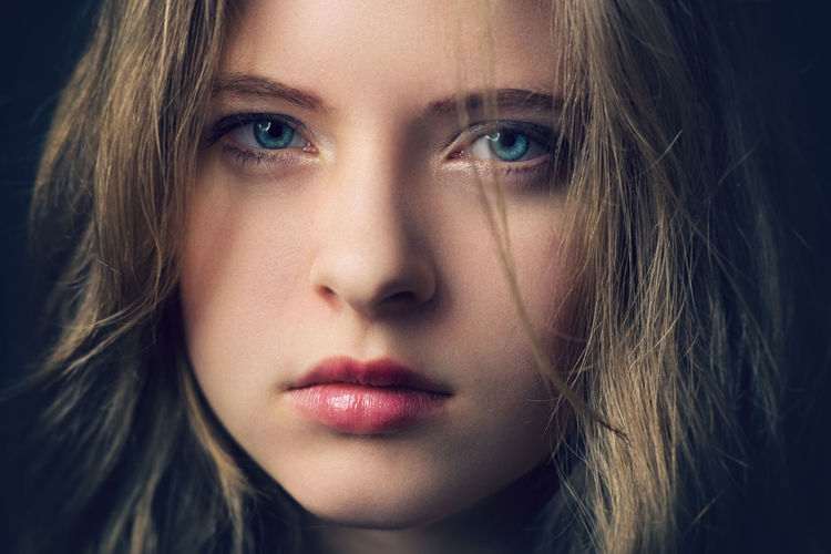 Disheveled Beauty Angry Beautiful Woman Beauty Blonde Blue Eyes Caucasian Close-up Dark Dissapointed Face Fine Art Photography Girl Gorgeous Human Face Lips Long Hair Negative People Portrait Portrait Of A Woman Portraits Pretty Real People Sad Young Adult The Portraitist - 2017 EyeEm Awards EyeEmNewHere EyeEm Selects
