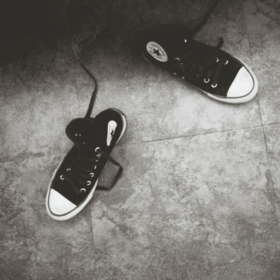 shoes speak louder than words... Converse Love Randomphoto BORED! Lucknow