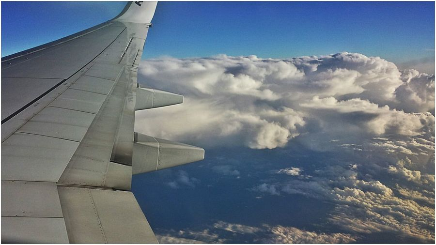 sssskkkyyy....@-@ Sky Panorama Aeroplane In The Sky