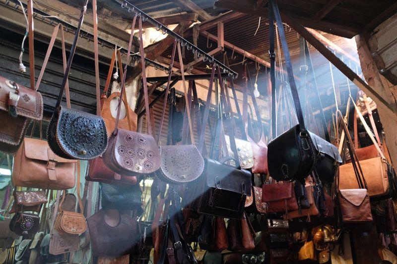 Marrakech Market Souks Market No People Retail  Choice Business