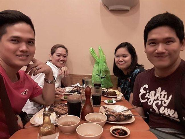 Simple dinner to celebrate @gumafelixgen 's birthday Manginasal Unliricepamore