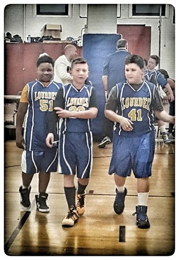 S/O to my son and his teammates on a great game last night ... Basketball Basketball Game Thekid Boys