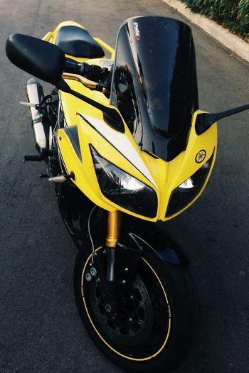my Yamaha Fz1 …