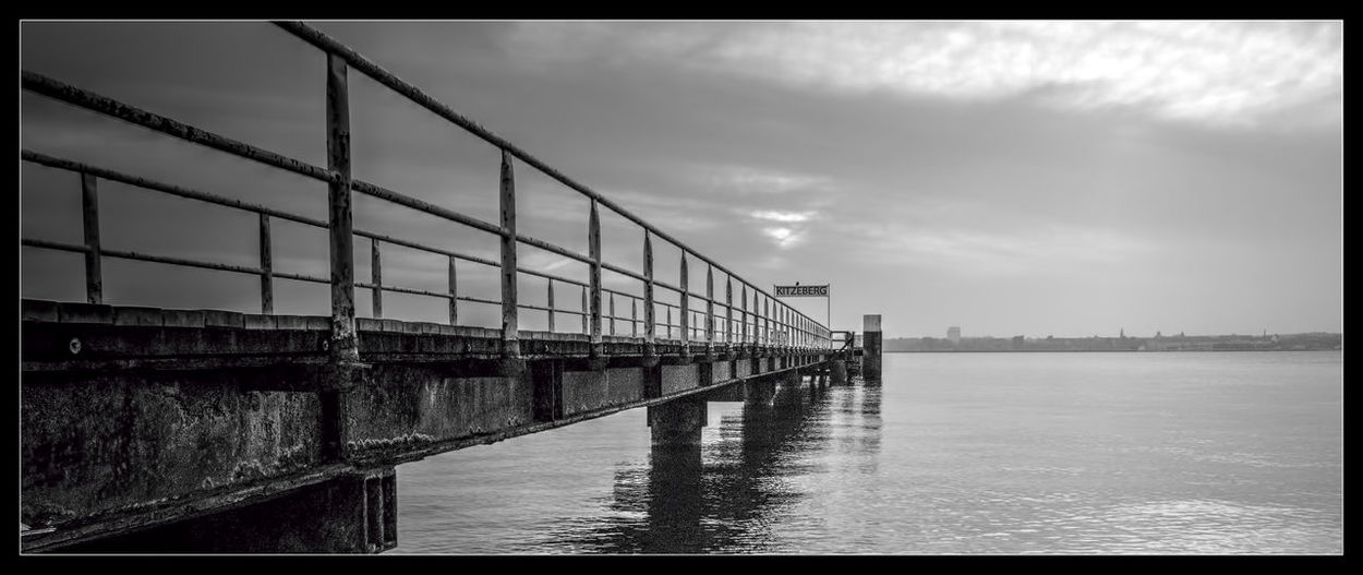 Mystery Awesome_view Black And White Street Photography Black_white Collection S/w-Fotografie BW Collection Bw Streetphotography Bw_ Collection Clouds Collection Dramatic Lighting Footbridge Light And Shadows Pier Landscapes My Black & White World Reflections In The Water Sea Side Water Reflection Architecture The Architect - 2016 EyeEm Awards Cloudy Day Dramatic Black And White Excellent_nature Dramatic B&w City At Night