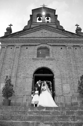 Family FAMILIA♥ Família Church Architecture Church Wedding Photography Wedding Day Nicolasrinconbodas Happiness Love Boda Wedingsaroundtheword Wedding Photos Weddingphotography Travel Destinations History Steps Outdoors Built Structure Building Exterior