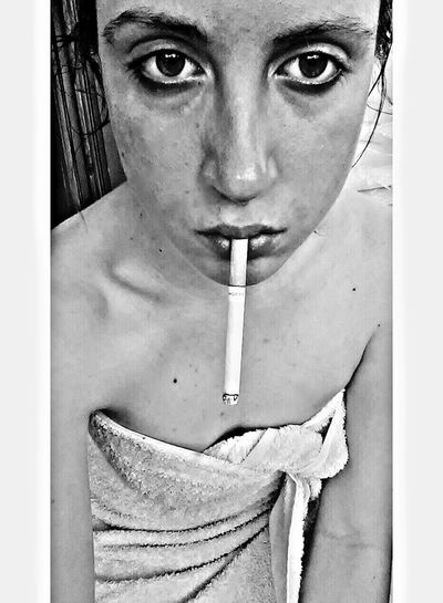 👩🔫 Taking Photos That's Me People Portrait Self Portrait Taking Selfies Coffee And Cigarettes Not A Good Day Bad Mood Cigarette Time