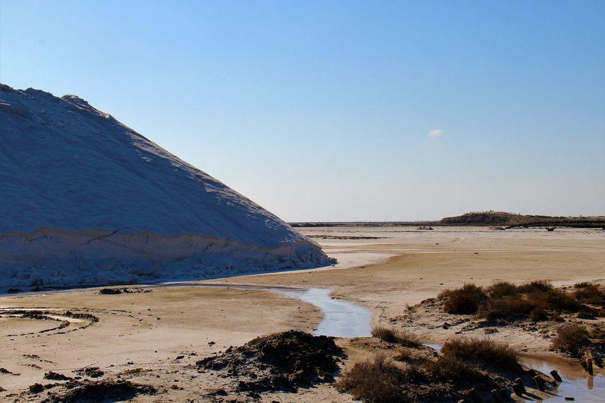Provence France Camargue Salt Mountain Sky Salt Water Sea Beach Sand Nature Reserve Summer Rock - Object Blue