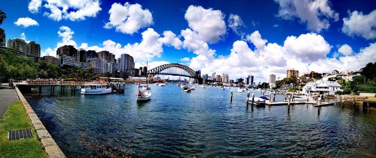 boats, Sydney, Australia Sydney Australia Water Nautical Vessel Tree City Harbor River Sky Architecture Building Exterior Cloud - Sky