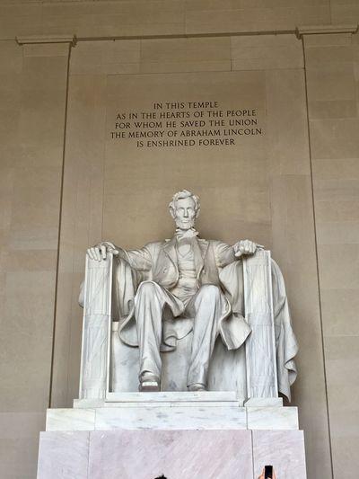 Abraham Lincoln Statue Washington, D. C.