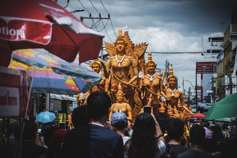 Nakhon ratchasima, thailand candle parade nakhon ratchasima, lent tradition in thailand
