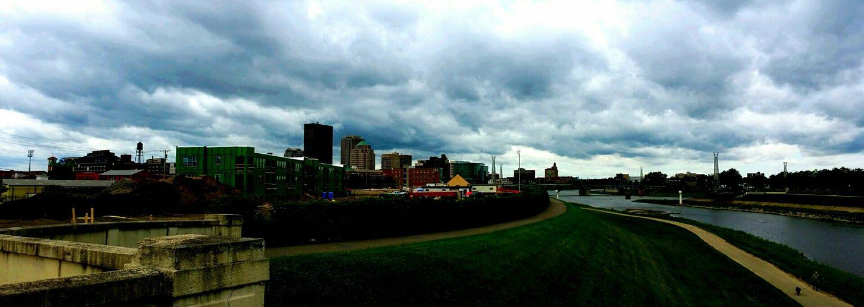 At The Park Skyline Gloomy Day