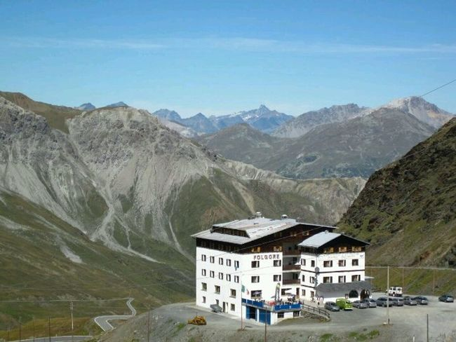 Nearby Ortler Italy at the border with Zwitserland Mountains