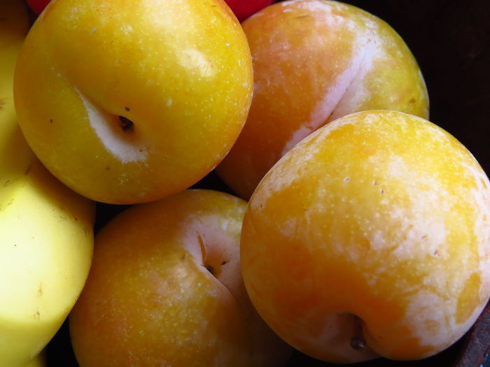 Nectarine StillLife Citrus Fruit Close-up Focus On Foreground Food Food And Drink For Sale Fresh Fruits Freshness Fruit Fruitporn Fruits Full Frame Healthy Eating Mirabelle Organic Plum Raw Food Ripe Still Life Wellbeing Yellow Yellow Fruit Yellow Plums