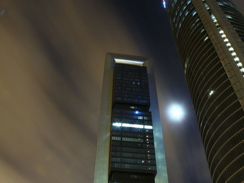 Low Angle View Illuminated Architecture No People Day Tower Towers Building Architecture Architecture_collection Tower Buildings Night Night Photography Moon Moonlight