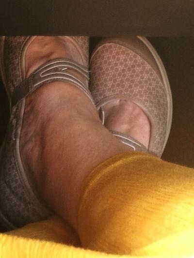 Athleisure Enjoying Life Feet Ready To Walk