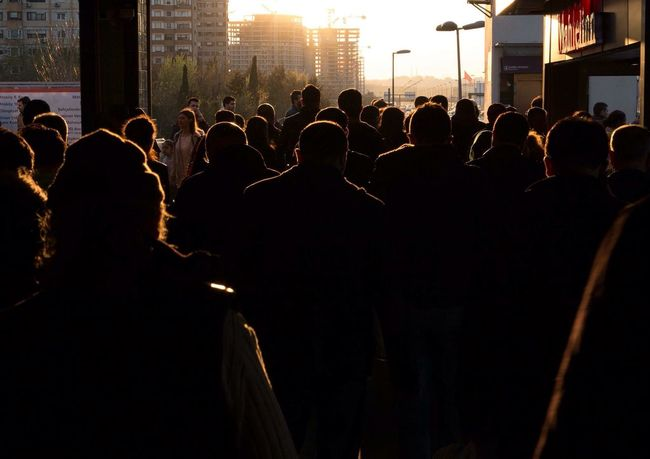 Evening People Crowded Sun Sunset Canon Canong1x City Life Light And Shadow Hanging Out Taking Photos Hello World Enjoying Life Check This Out Landscape Light Turkey Black Contrast