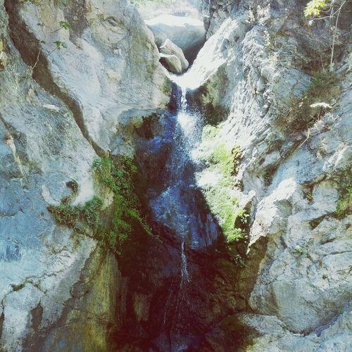 serenity Nature Hiking Waterfall