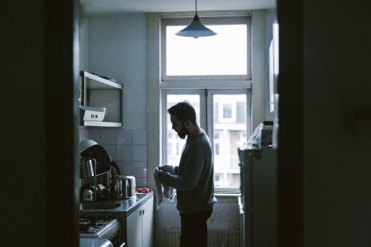 Domestic Life Fujifilm Fujifilm_xseries FujiX100T Indoors  Kitchen Real People Standing Winter Light