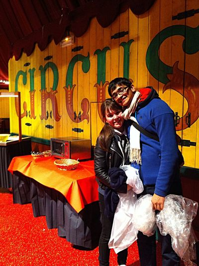 Restaurant du Cirque ! Au Parc Asterix 1 Mai 2015 !! 2 ans en Amoureux😍