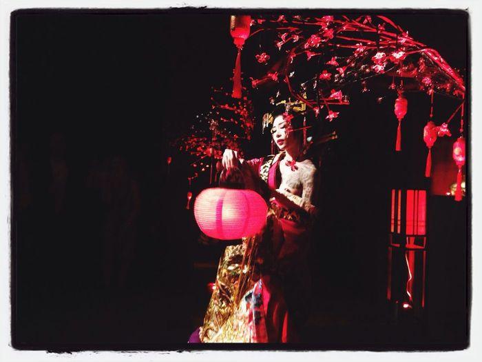 Night Out Geisha Cabaret Performance