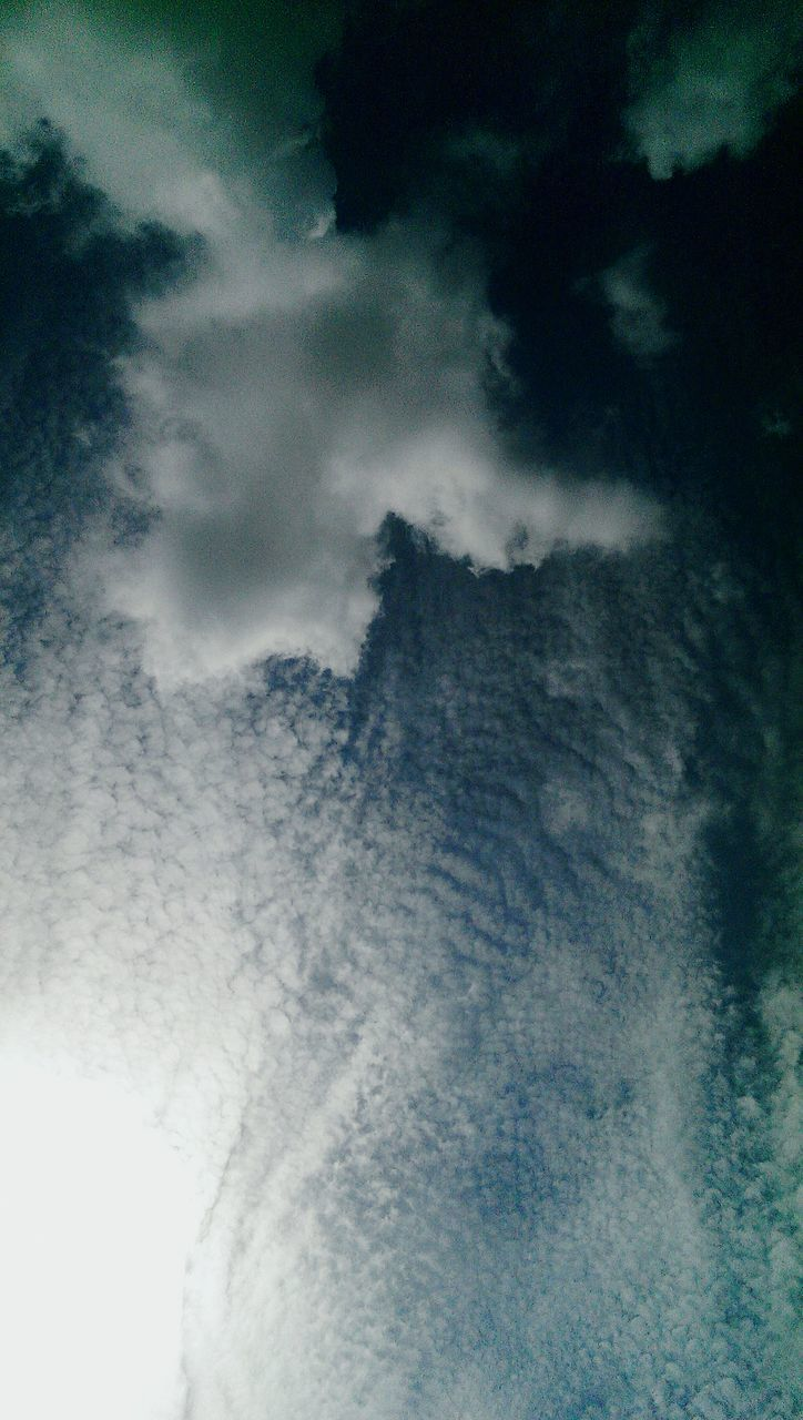 sky, cloud - sky, cloudscape, low angle view, nature, beauty in nature, sky only, scenics, tranquility, no people, tranquil scene, backgrounds, outdoors, blue, day, storm cloud